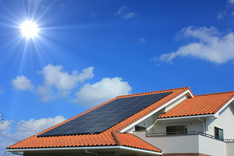 太陽光発電(南相馬市の施工例・施工事例、小林建業)
