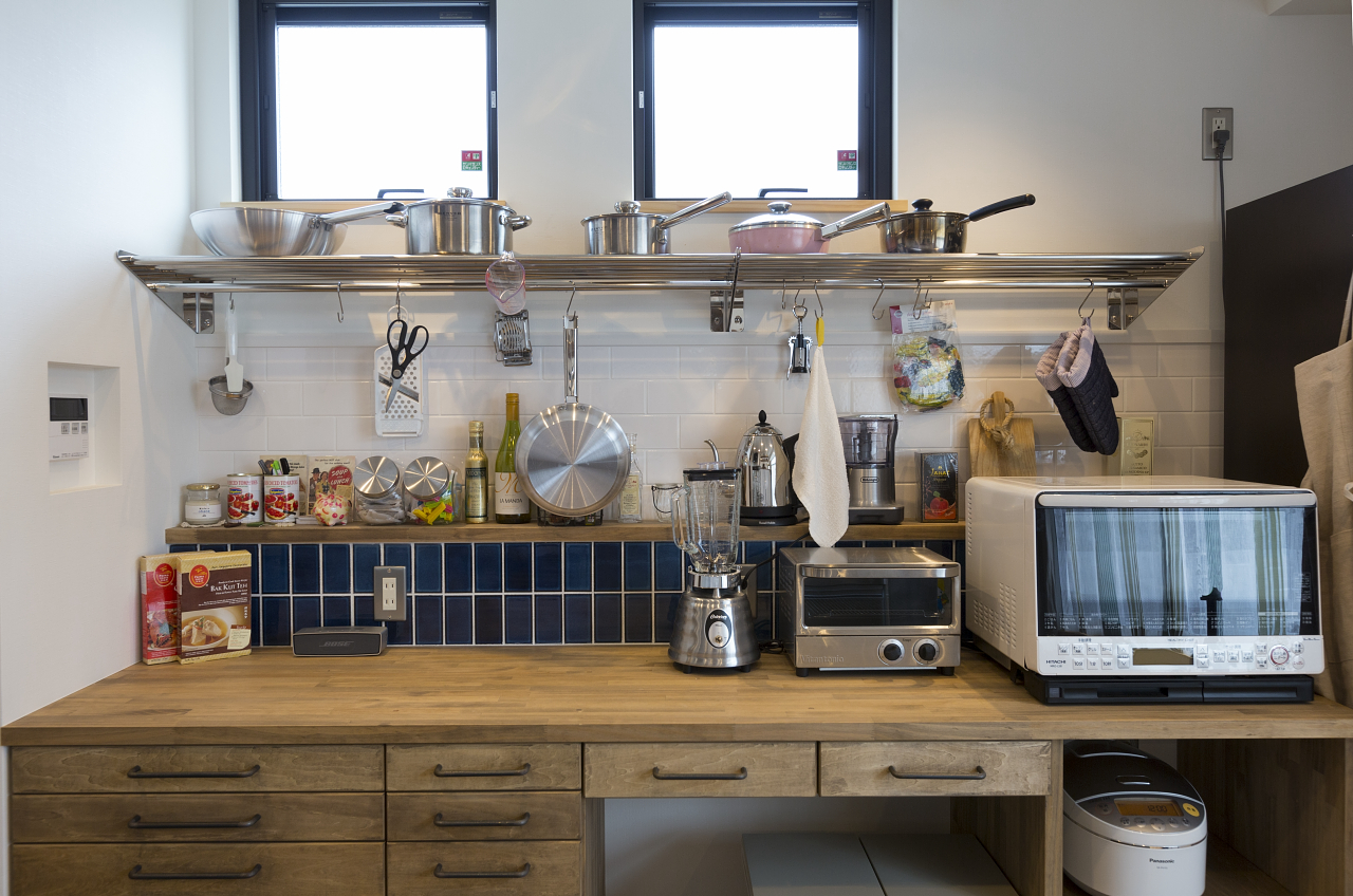 CHU!の家(南相馬市の施工例・施工事例)キッチン