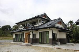 新築住宅07・南相馬市の施工例、海を望むこだわり和風の家